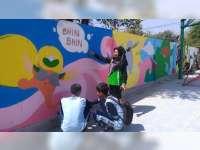Mural Siswa SMA Negeri 1 Kalitidu Bojonegoro