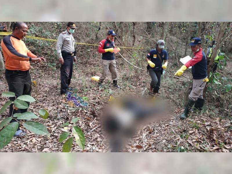 Sesosok Mayat Tanpa Identitas Ditemukan Warga di Hutan Ngambon Bojonegoro