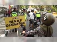 Tekan Angka Kecelakaan Lalu-Lintas, Sat  Lantas Polres Tuban Rutin Gelar Razia