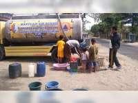 Hingga Pertengahan September, BPBD Bojonegoro Sudah Salurkan 80 Rit Bantuan Air Bersih