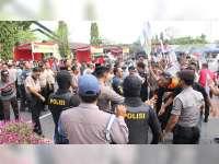 Jelang Pileg dan Pilpres, Polres Tuban Gelar Simulasi Pengamanan Pemilu