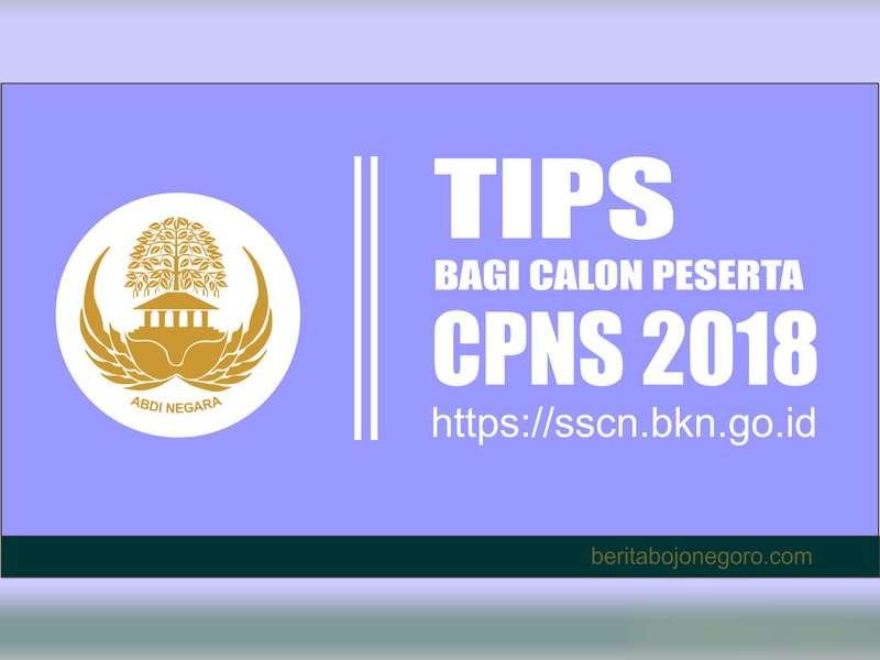 Tips Bagi Calon Pelamar Dalam Mengikuti Proses Seleksi CPNS 2018