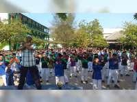 Kian Viral, Santri di Tuban Gemari Goyang Dayung