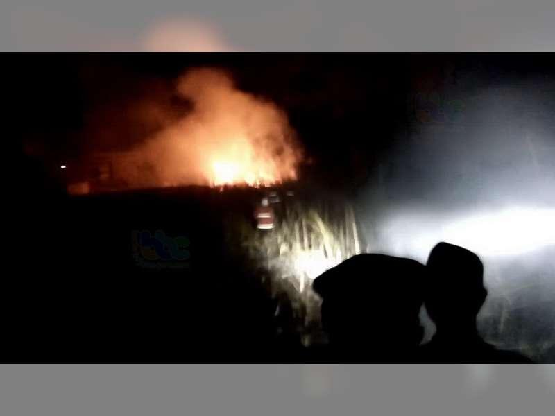 Lagi-Lagi, Kebakaran Semak Terjadi di Bojonegoro, Diduga Akibat Pembakaran Sampah