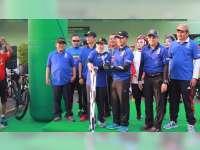 Bupati Bojonegoro Lepas Fun Bike, HUT ke-73 TNI dan Hari Jadi ke-341 Kabupaten Bojonegoro