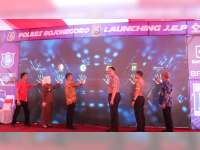 Peluncuran Sistem JEP Polres Bojonegoro Dihadiri Wakapolda Jatim