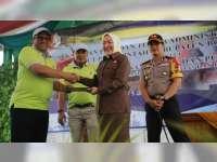 Bupati dan Kanwil BPN Jatim Tandatangani Nota Kesepahaman PTSL Kabupaten Bojonegoro