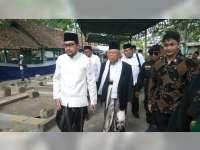 KH Ma'ruf Amin Hadiri Haul ke 48 Pondok Pesantren Langitan