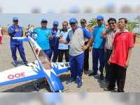Cabor Aeromodelling pada Porprov Jateng 2018, Dilaksanakan di Bandara Ngloram Blora