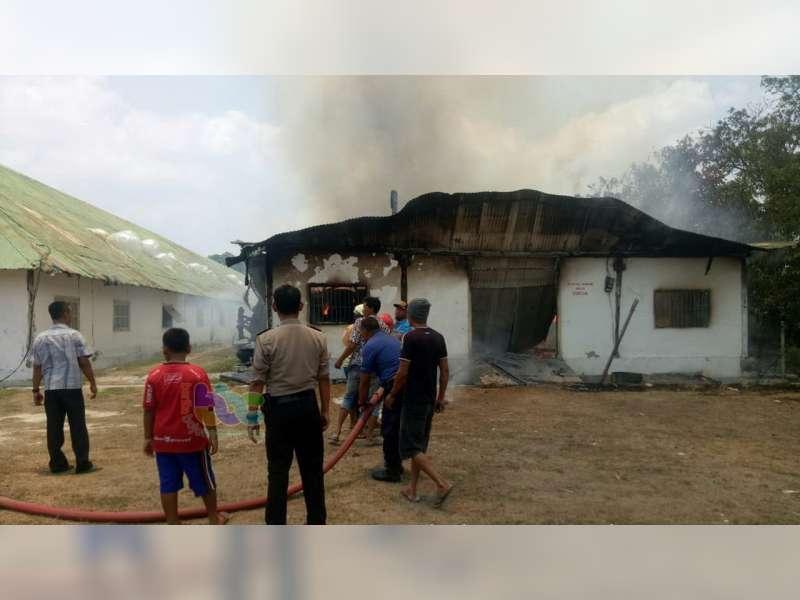 Kerugian Akibat Kebakaran Gudang Tembakau di Baureno Bojonegoro, Hampir Mencapai Rp 1 Miliar