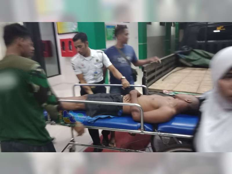 Mengaku Jadi Korban Begal, Seorang Warga Merakurak Tuban Dilarikan ke Rumah Sakit