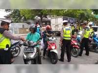 Operasi Zebra 2018 Hari Kesebelas di Bojonegoro, Jumlah Pelanggaran Masih Tinggi