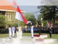 Upacara Bendera Peringatan Hari Pahlawan di Kabupaten Blora Berlangsung Khidmat
