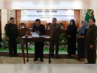 Bupati Blora dan Pimpinan Dewan Sepakati KUA PPAS RAPBD 2019