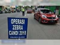 Sat Lantas Polres Blora Tindak 3.000 Lebih Pelanggaran Selama Operasi Zebra Candi 2018