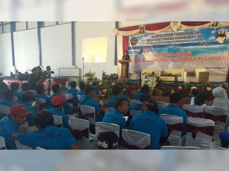 KUPP Brondong Gelar Sosialisasi Keselamatan dan Keamanan Pelayaran pada Nelayan