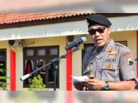 Kapolres Blora Ingatkan Anggota Tentang Netralitas Polri Dalam Pemilu 2019