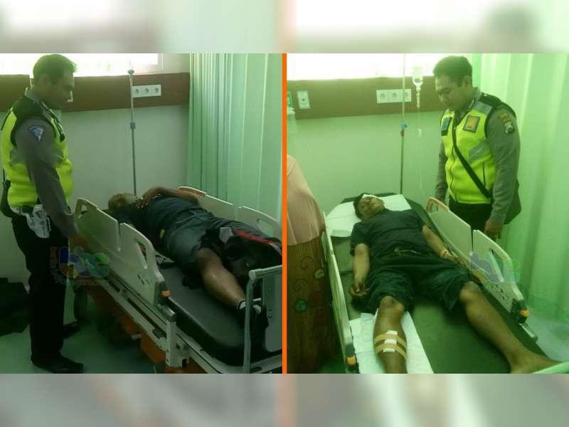 Kecelakaan Motor di Padangan Bojonegoro, Kedua Pengendara Luka-Luka