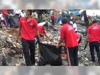 KUPP Brondong Gelar Bersih-Bersih Sampah di Pantai Brondong dan Paciran