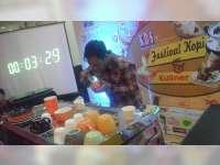 Barista Asal Mojokerto Juarai Latte Art Battle di Bojonegoro