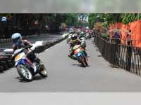 Wakil Bupati Buka Bupati Cup Melindo ALC Balap Motor 2018, di Alun-Alun Bojonegoro