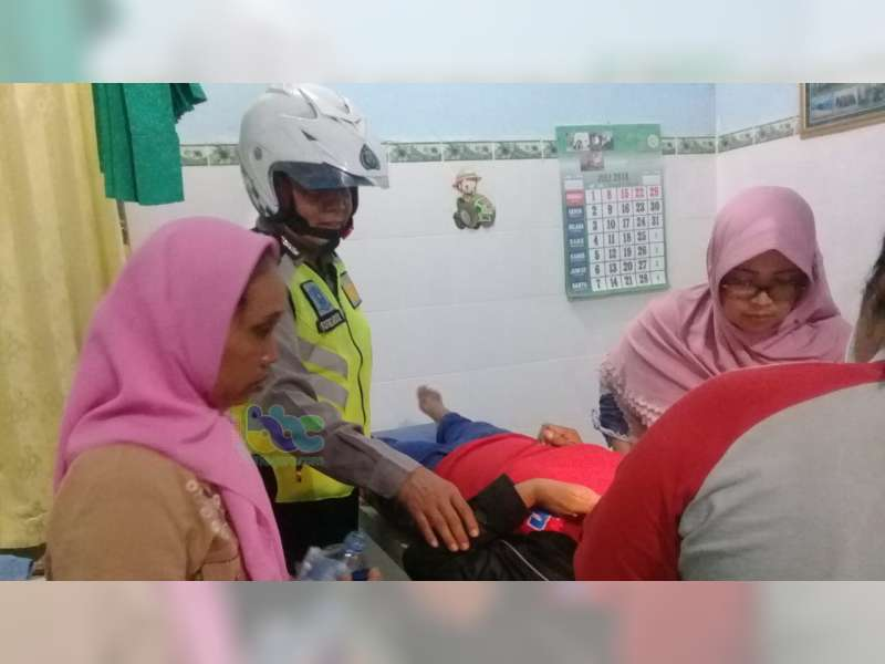 Kecelakaan Motor di Ngraho Bojonegoro, 3 Orang Luka-Luka