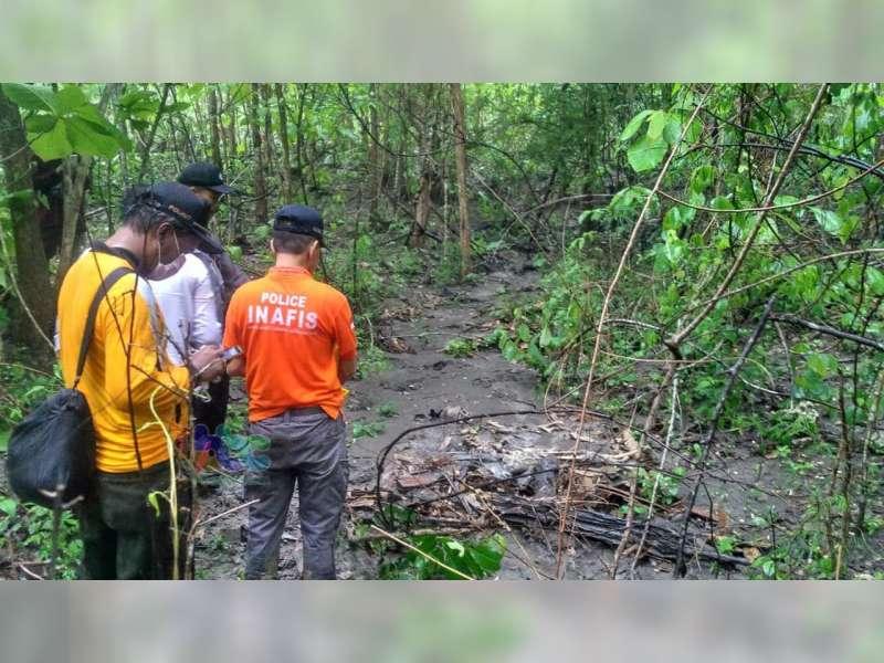 Kerangka Manusia Ditemukan Warga di Hutan Temayang Bojonegoro