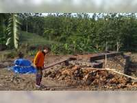 Pembangunan Jalur Alternatif dan Jembatan Darurat di Clebung Bubulan Digenjot