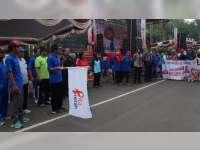 Wakil Bupati Bojonegoro Hadiri Aksi Solidaritas Peduli HIV/AIDS