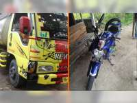 Ditabrak Truk Pemotor di Margomulyo Bojonegoro Alami Patah Kaki