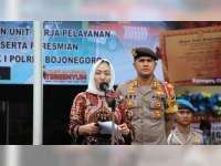 Bupati Apresiasi Polres Bojonegoro yang Telah Meraih Predikat WBK