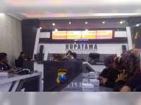Cegah Hoax di Medsos, Polres Bojonegoro Gelar Diskusi bersama Admin Grup Facebook
