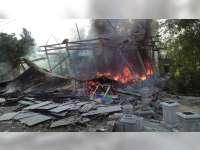 Kebakaran Rumah di Padangan Bojonegoro, 1 Orang Luka-Luka, Kerugian Capai Rp 100 Juta