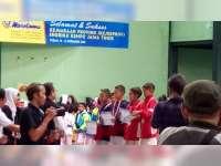 Kenshi Bojonegoro Raih 7 Medali di Kejurprov Shorinji Kempo Junior Jawa Timur di Tuban