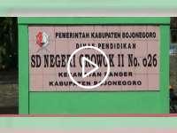 Runtuhnya Atap Gedung SDN Growok 2 Dander Bojonegoro, Diduga Karena Lapuk
