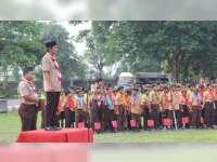 Kwartir Cabang Gerakan Pramuka Kabupaten Bojonegoro Gelar Pesta Siaga 2018