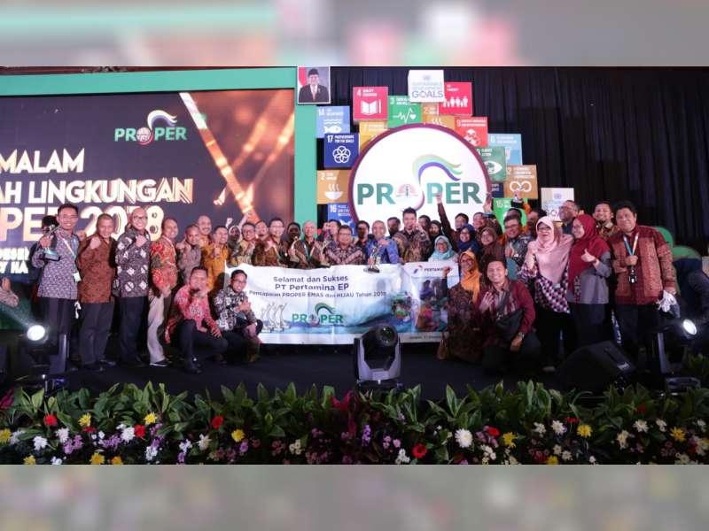 Pertamina EP Asset 4 Sukowati Field Raih Predikat Proper Hijau