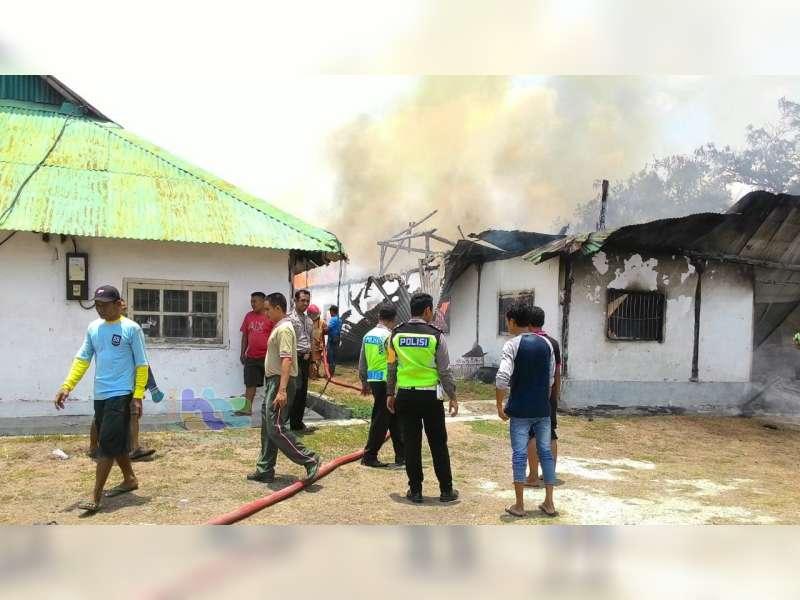 12 Peristiwa Kebakaran di Bojonegoro Tahun 2018 dengan Kerugian Material Besar
