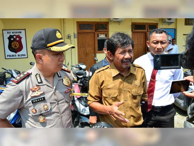 Perhutani Apresiasi Polres Blora Yang Berhasil Tangkap Pelaku Penusukan Petugas Polhut