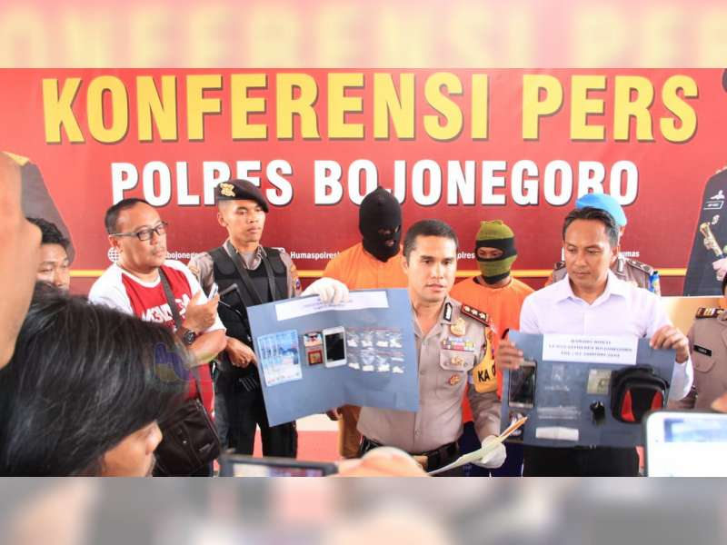 Polisi Bojonegoro Tangkap Remaja Asal Medan, Yang Kedapatan Miliki Sabu-Sabu