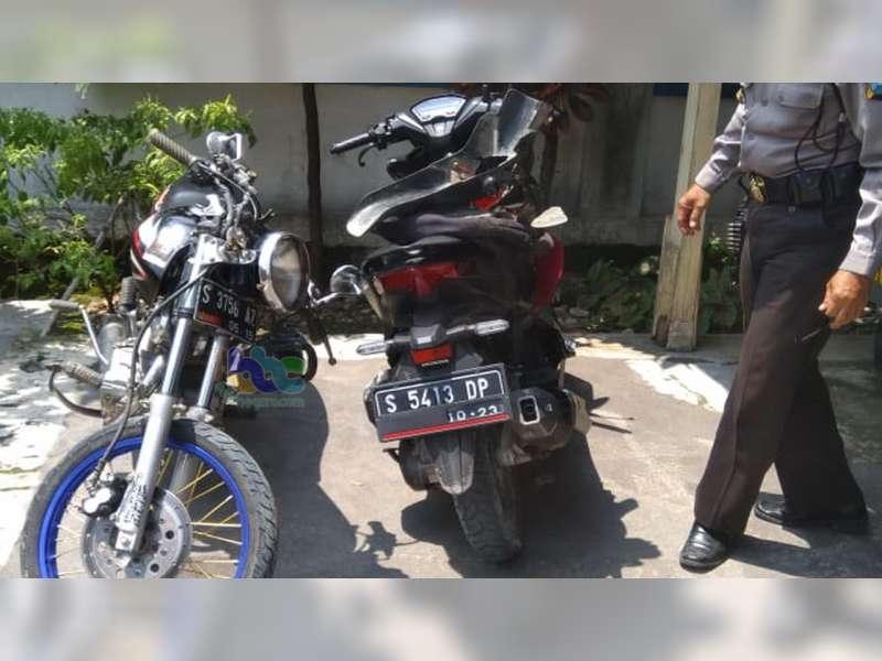 Tabrakan Motor di Bubulan Bojonegoro, Seorang Pelajar Luka Berat