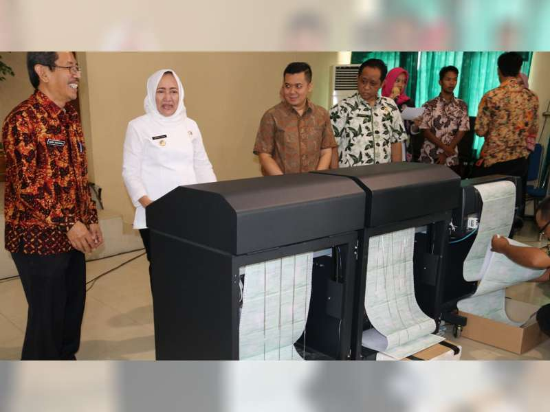Pemkab Bojonegoro Cetak Massal, SPPT PBB-P2 Tahun 2019