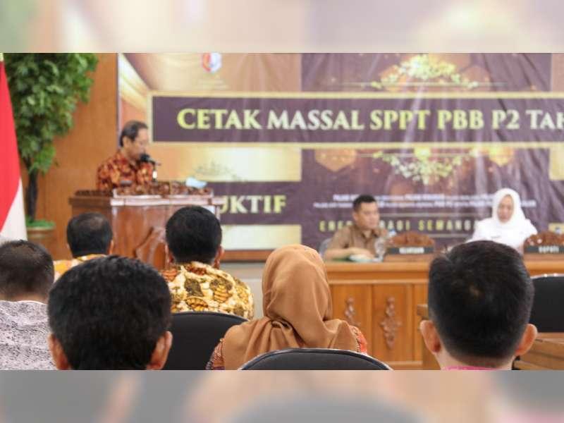 Target Penerimaan Pajak Daerah Bojonegoro 2019 Sebesar Rp 99 Miliar
