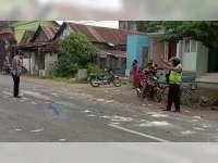 3 Motor Terlibat Kecelakaan di Padangan Bojonegoro, 1 Orang Luka Berat