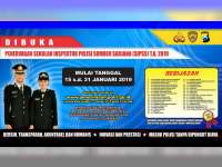 Polri Buka Pendaftaran Anggota dari Sumber SIPSS