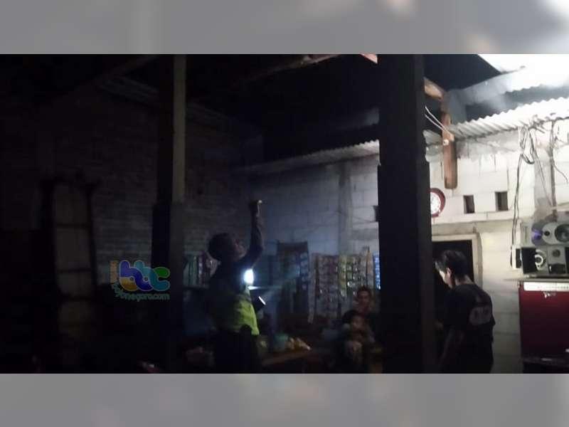 5 Rumah Warga Sukosewu Bojonegoro Rusak Diterjang Angin