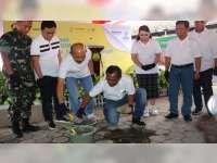 Bupati Blora Letakan Batu Pertama, Revitalisasi Rumah Sakit PPSDM Migas