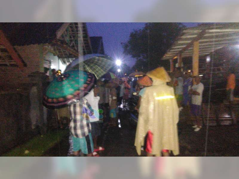 Seorang Warga Gondang Bojonegoro Dilaporkan Hanyut Terseret Banjir