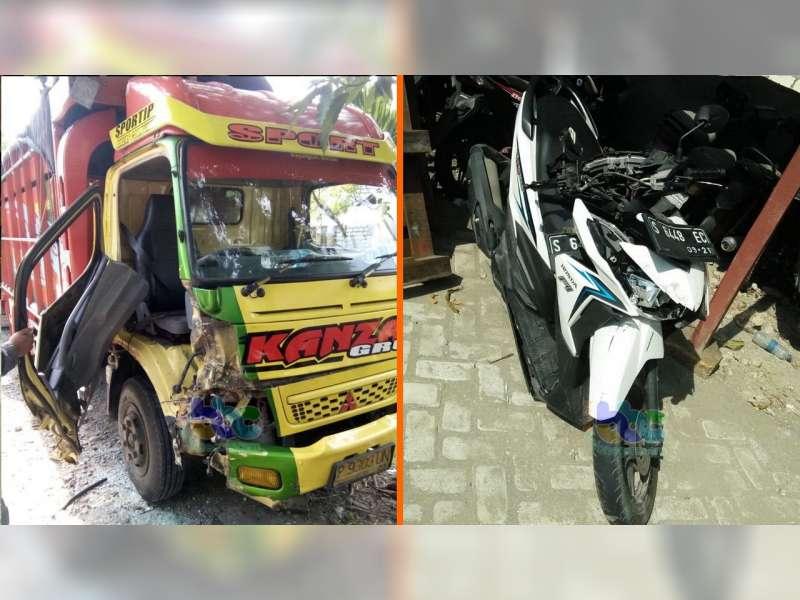 Kecelakaan Beruntun di Baureno Bojonegoro, Seorang Pemotor Luka-Luka