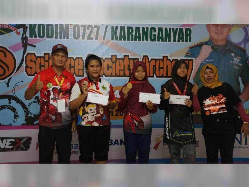Atlet Panahan Blora, Raih Empat Medali Emas